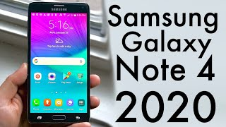 Samsung Galaxy Note 4 in 2020! (Still Worth It?) (Review)