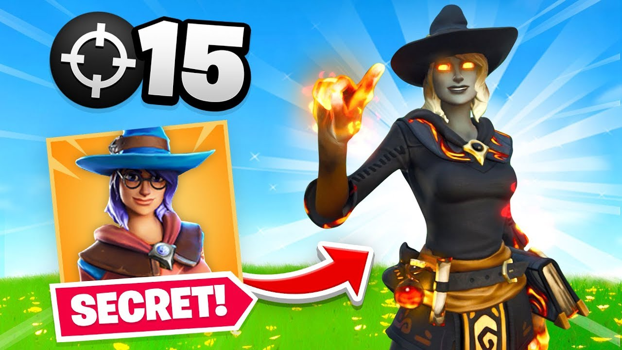 *SECRET* NEW Fire Witch Skin in Fortnite! thumbnail
