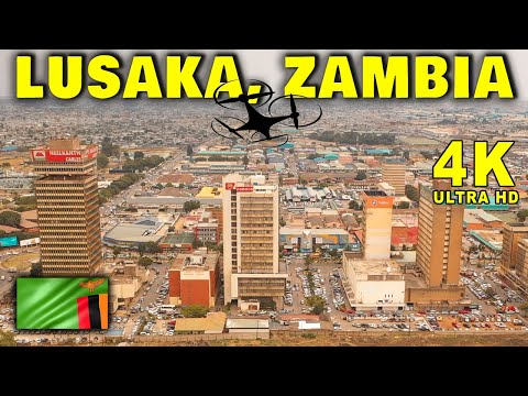 Lusaka City 2019 By Drone