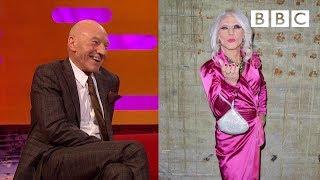 Patrick Stewart's drag act alter ego - BBC