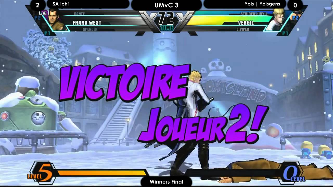 SAC #6 UMvC3 SA Ichi vs Yolsgen Semi Losers Final