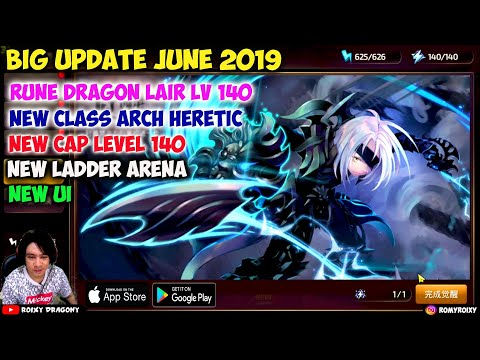 BIG Update Cap Level 140 & Arch Heretic !!! Dragon nest Awake (CN) Android/iOS MMORPG