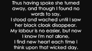 Uriah Heep - Lady in Black (LYRICS)