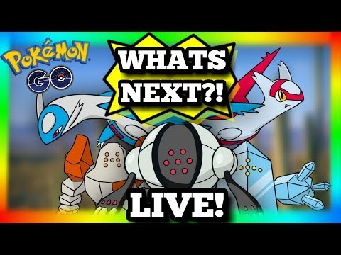 🔴 LIVE NOW 🔴 WHAT'S NEXT IN POKEMON GO ? NEW LEGENDARIES? CHAT - ULTRA RARE MONS & RAYRAYS IN NYC