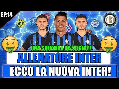 ECCO LA NUOVA INTER!! UN SUPER MERCATO PER VINCERE!! FIFA 19 CARRIERA ALLENATORE INTER #14