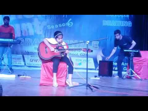 Vartika Dhuve Performing live in Talent Hunt - 6 by Swar Sagar at Gurukul 'The School', Ghaziabad
