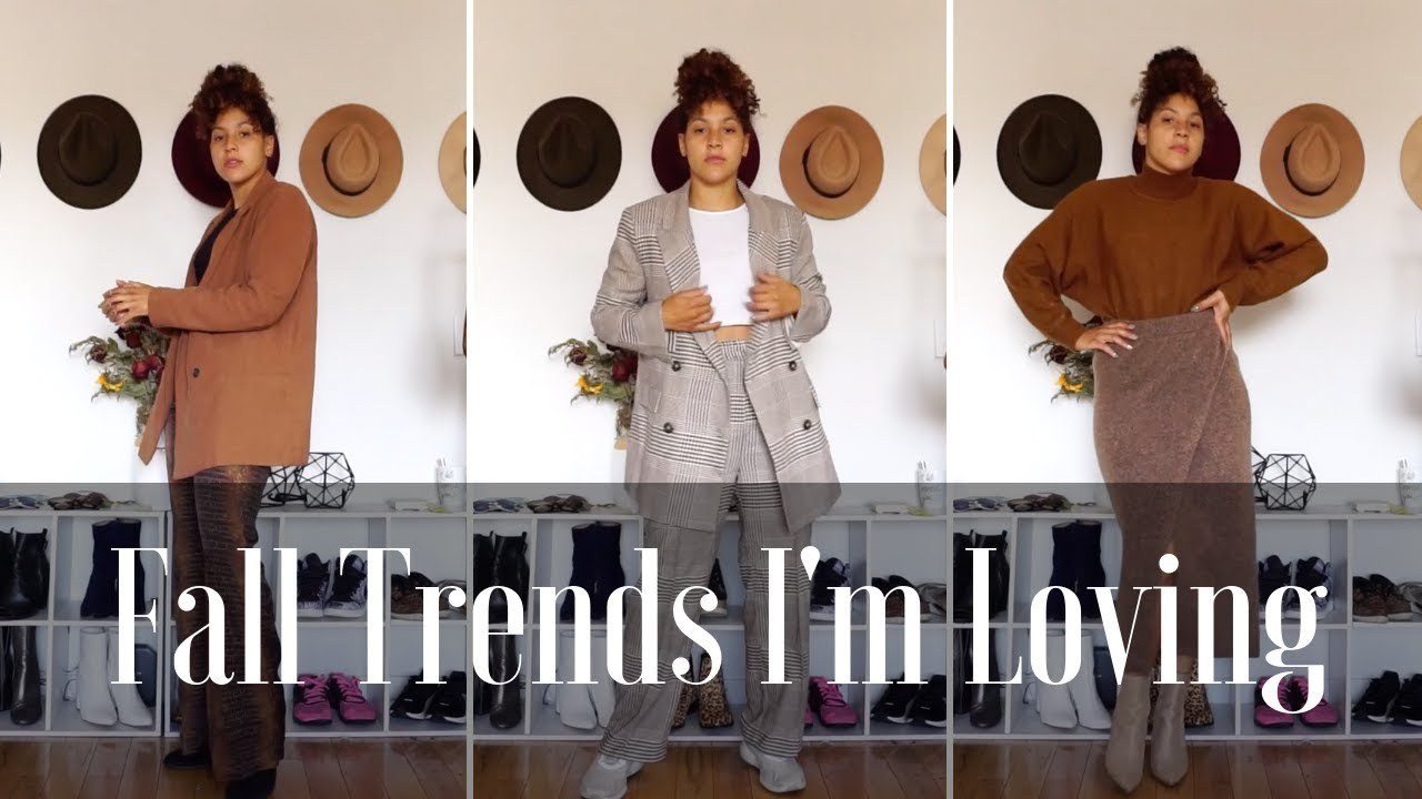 [VIDEO] - Lookbook: On Trend Fall Outfit Ideas 2019 8
