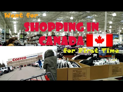 Going Out For Shopping In Canada For First Time, Costco | Burlington | International Student