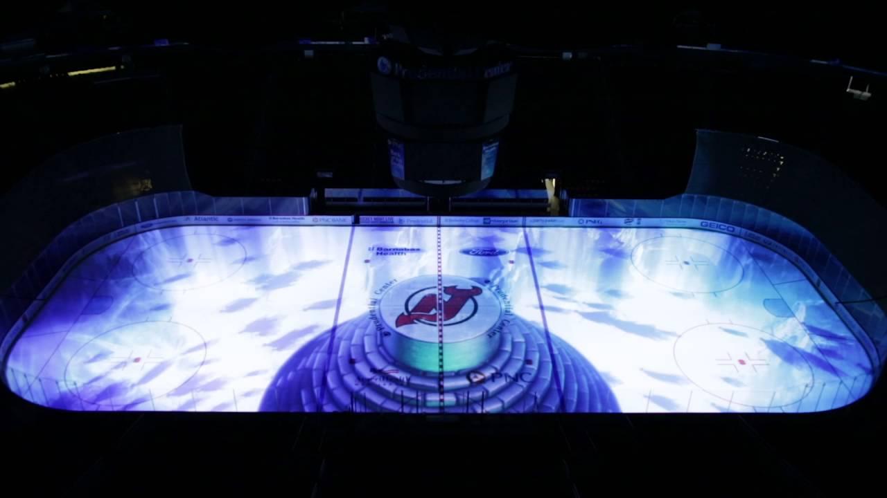huge discount cae9f e1c34 NJ Devils Ice Projection - Halloween Open