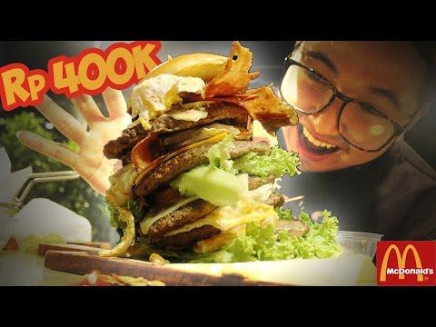 Burger McD TERMAHAL !? Wkwkwkwk