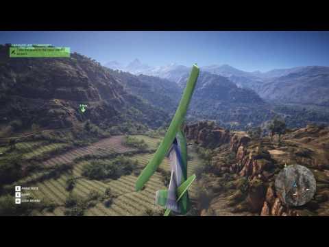 Not graceful landing, but really efficient [Cooper] - Tom Clancy's Ghost Recon: Wildlands 1440p