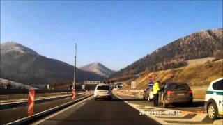 D1 Prešov - Poprad Tatry 3.1.2016