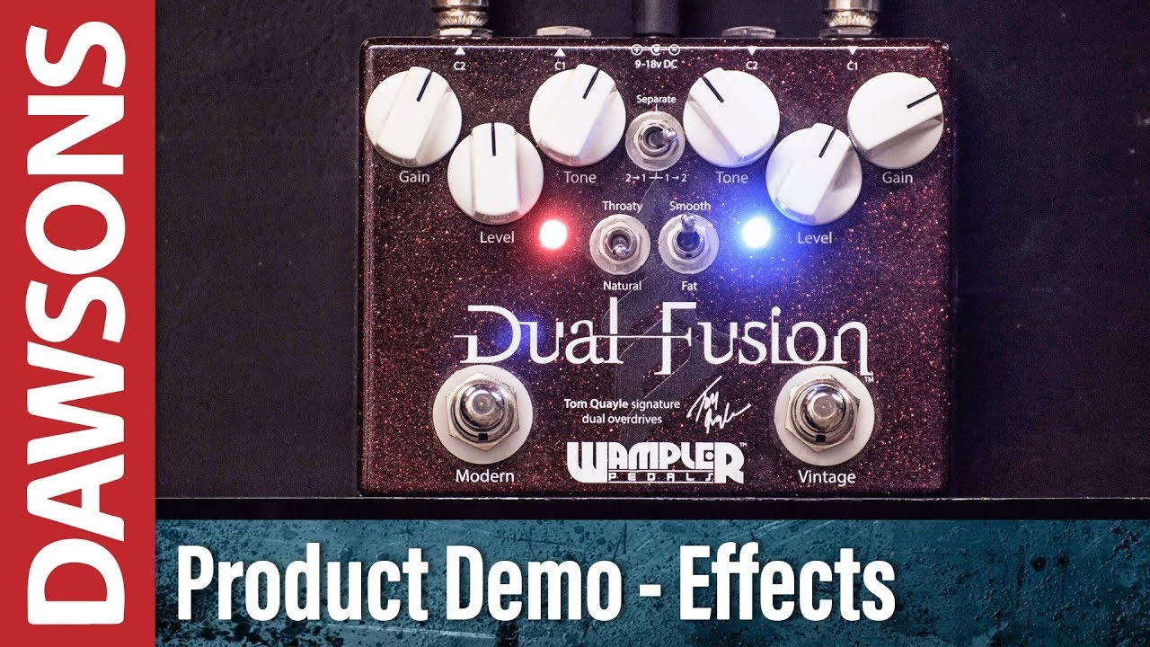 wampler dual fusion overdrive demo youtube. Black Bedroom Furniture Sets. Home Design Ideas