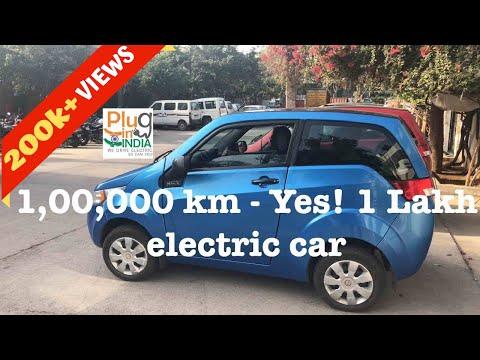 1,00,000 (1 Lakh) Km In An Electric Car - Ranjan Ray : Mahindra E2o