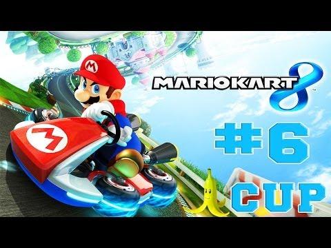 Mario Kart 8 - Walkthrough Part 6 Banana Cup 50cc [HD]