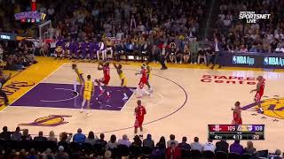 Rockets vs Lakers BRAWL  Ingram Throws Punches
