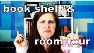 Book Shelf And Room Tour!