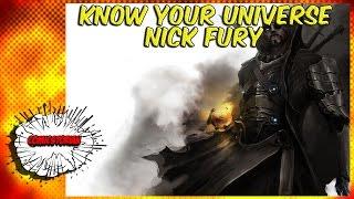 Nick Fury & Infinity Serum - Know Your Universe