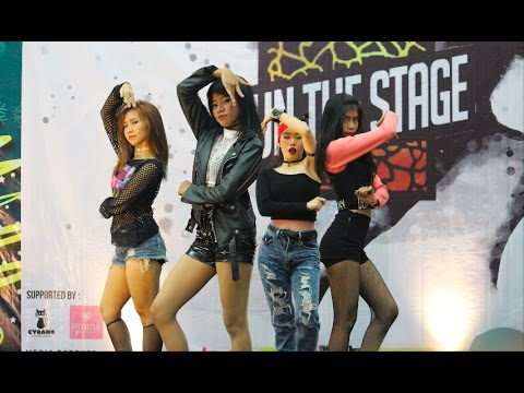 Pink Panda - Blackpink Dance Cover at Lippo Plaza Bogor