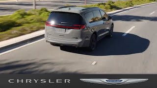 homepage tile video photo for Chrysler Pacifica   LANESENSE® Lane Departure Warning with Lane Keep Assist