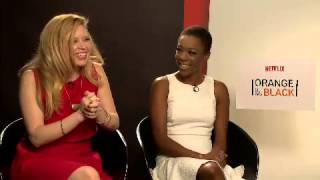 #311 cqc Cortez faz entrevista exclusiva atrizes de Orange Is The New Black 15 06 2015 mircmirc