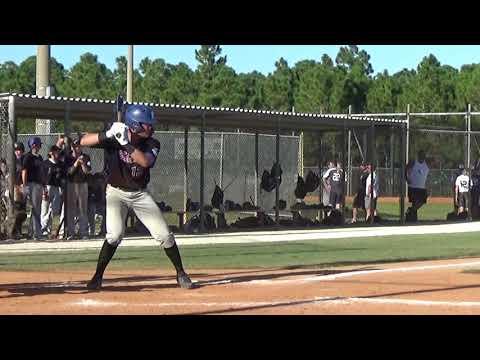 Keoni Cavaco (10-20-2018) WWBA vs Scorpions Baseball Club (Jupiter, Fla.)