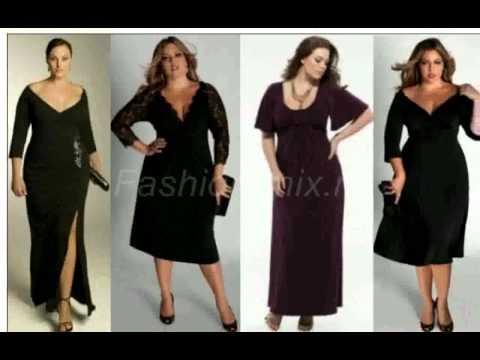 Платья для полных Модели вечерних платьев для полных