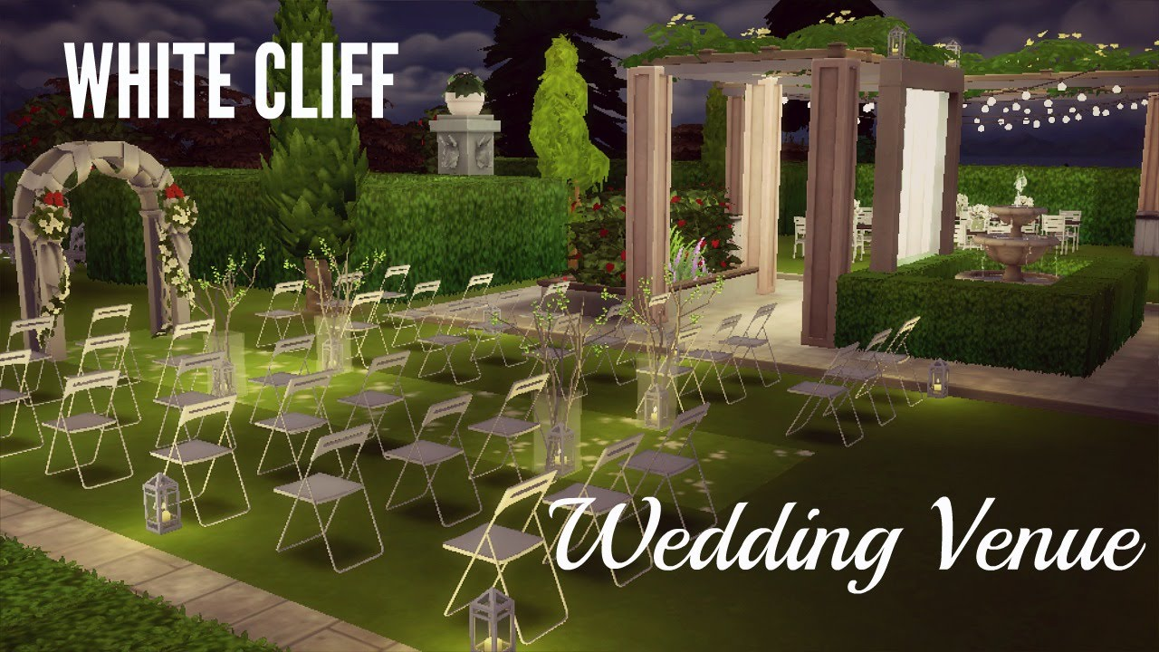 Wedding Venue (Windenburg)- The Sims 4 Speed Build