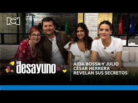 AIDA BOSSA Y JULIO CÉSAR HERRERA REVELAN SUS SECRETOS EN PAREJA