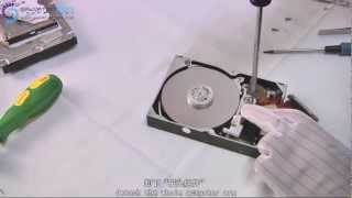 Head replacement for Maxtor DiamondMax Hard Disk? Check the EASIST&QUICKEST way to do it.