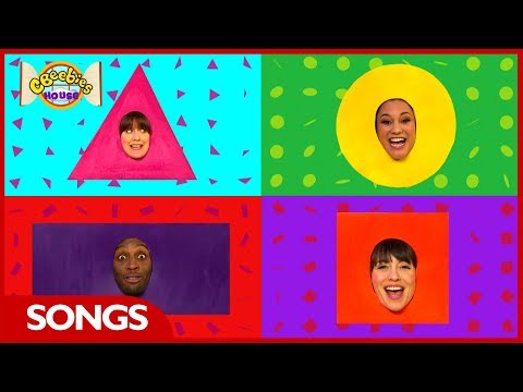 CBeebies House Songs | The Shapes Song