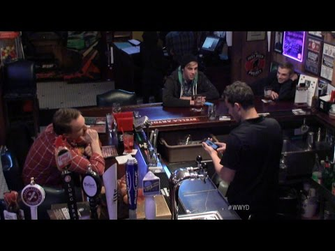 Bartender Looks Through Woman's Phone | What Would You Do? | WWYD | ABC News