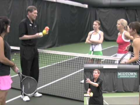 Tennis In No Time™ program at Midtown Athletic Club in Bannockburn
