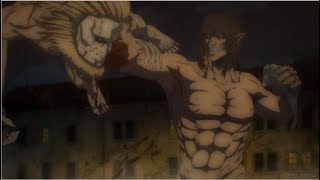 Eren Yeager vs Jaws Titan