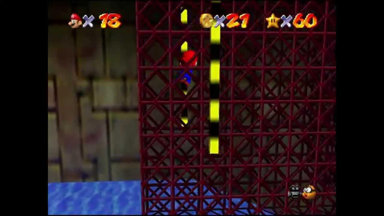 Super Mario 64 Kurs 9 Springe Zu Den Roten Münzen Youtube