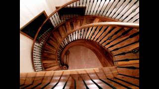 Custom Curved Staircase Stairsmiths.com