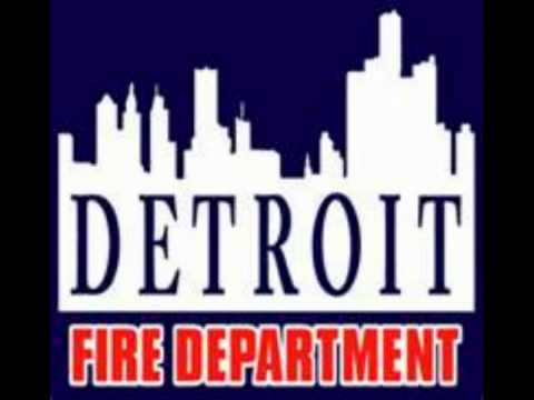Detroit Fire Traffic Part 1 6/25/12 BUSY NIGHT