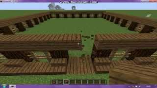 Minecraft Jak zbudować ładną stajnie ?