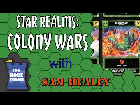 Star Realms: Colony Wars Review with Sam Healey