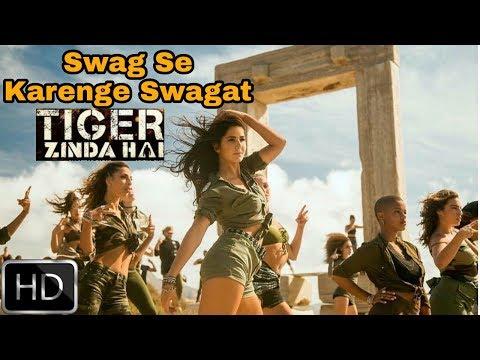 Swag Se karenge Swagat | Katrina Look | Tiger zinda hai song | Salman Khan | Ali Abbas Zafar