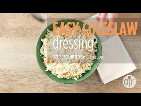How To Make Easy Coleslaw Dressing | Dressing Recipes | Allrecipes.com