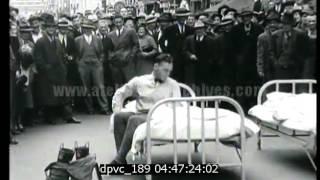 Course de pompiers - octobre 1938