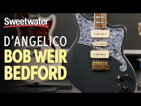 D'Angelico Bob Weir Bedford Electric Guitar Playthrough