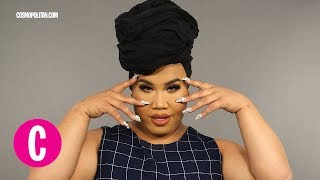 You Need to See Patrick Starrr's Mind-Blowing Makeup Transformation | Cosmopolitan