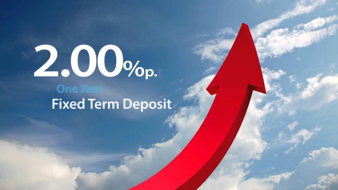 Best fixed term deposit rates