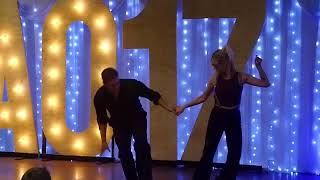 Shag Dance Demo by Brennar Goree & Autumn Jones @ Australia Open WCS Championship