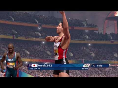 100 Meter Dash - Beijing 2008 Online PS3