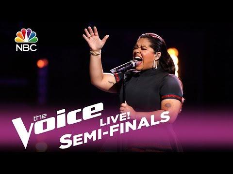 "The Voice 2017 Brooke Simpson - Semifinals: ""Faithfully"""