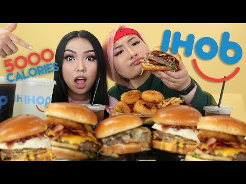 IHOPIHOB MUKBANG - 5K CAL ft Promise Phan FoodWithSoy