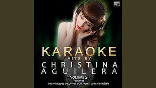 Walk Away (In the Style of Christina Aguilera) (Karaoke Version)